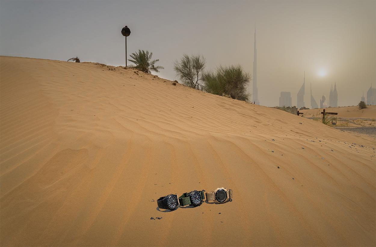 Unsere Testkandidaten mussten in der Wüste Dubais zeigen was sie können | Foto: © SEK-Einsatz.de