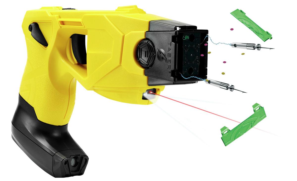 TASER X26P mit HD Cam im Griff | Foto: © TASER International