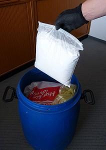 Tüte mit den sichergestellten ca. zwei Kilogramm Amfetamin | Foto: Zoll