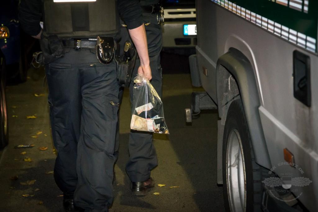 Die Polizei durchsuchte insgesamt sieben Objekte in Berlin. | Foto: © Tomas Moll