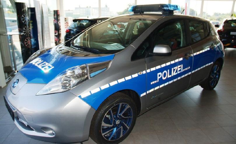 Der neue E-Funkwagen | Foto: PP MV