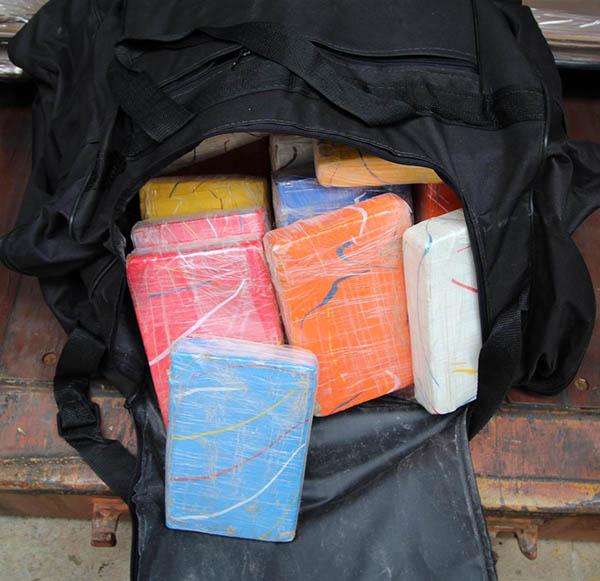 In Sporttaschen wurde das Kokain verpackt | Foto: GER