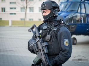 Ein Angehöriger der BFE+ der Bundespolizei | Symbolfoto: © Tomas Moll