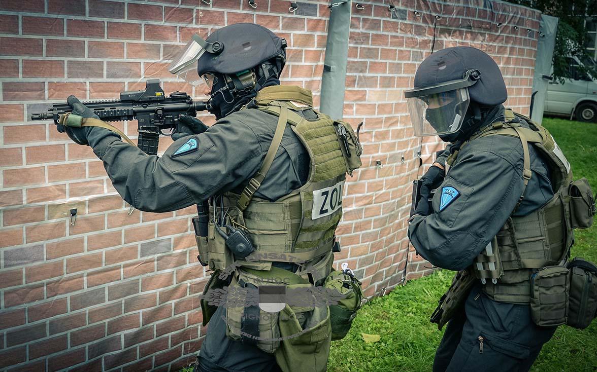 Die Spezialeinheit des Zolls - Zentrale Unterstützungsgruppe Zoll im Einsatz | Symbolfoto: © Tomas Moll