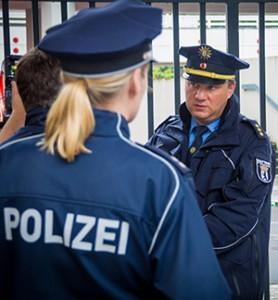 Polizeisprecher Redlich | Symbolfoto © Tomas Moll