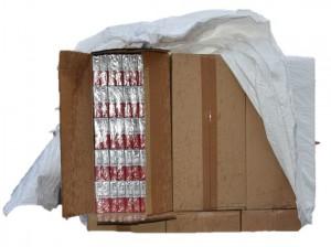 sichergestellte Schmuggelzigaretten | Foto: Zoll