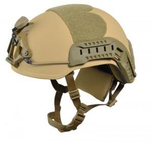 Ultra leichter Helm fur Spezialkräfte. Extrem hoher Schutz, welcher bei kompletter Konfiguration fur Spezialkräfte (inkl. Inlay, Rails, NVG Aufnahme etc.) lediglich 1,1kg wiegt. Eine der populärsten Helme innerhalb der CT- und Spezialeinheiten weltweit. | Foto: © PRNewsFoto/ArmorSource LLC
