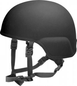 Ein leichter Helm mit Beschusshemmung bis zum Kaliber 7,62x51 M80 bei einem Maximalgewicht von 1,5 kg in kompletter Konfiguration. Es gibt den Helm in einer Gefechtshelmausstattung, Polizeikonfiguration und mit einer Ausstattung fur Spezialkräfte. Ein sehr populärer Helm bei Spezialkräften fur den Einsatz in urbanen und asymmetrischen Operationen. | Foto: © PRNewsFoto/ArmorSource LLC