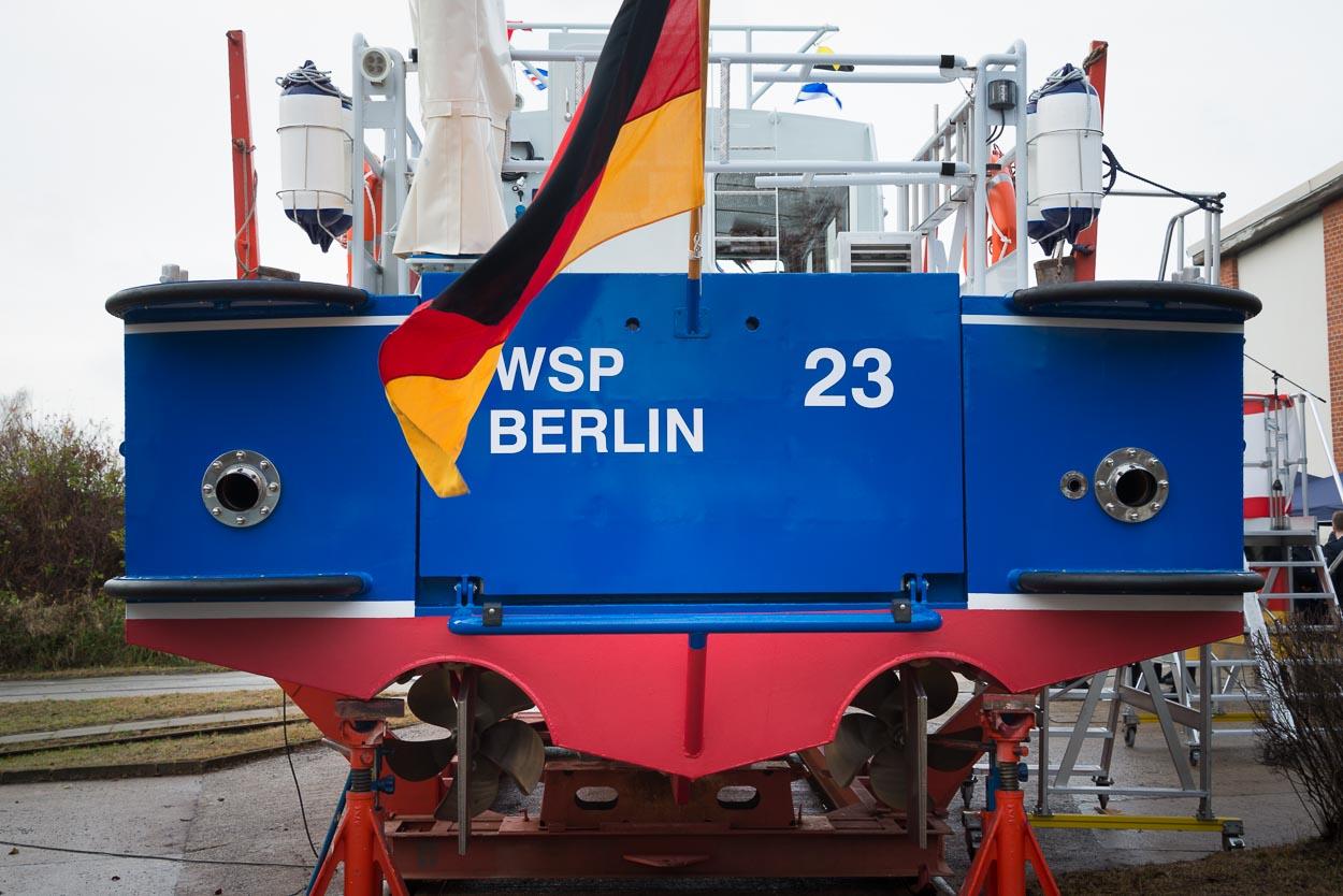 Der hintere Motorenbereich der 'Seeadler' | Foto: © Tomas Moll
