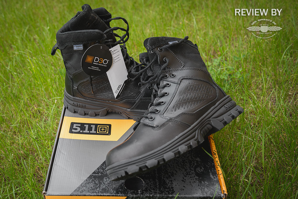 Photo of Review: 5.11 Tactical EVO 6 wasserdichte Stiefel mit Sidezip