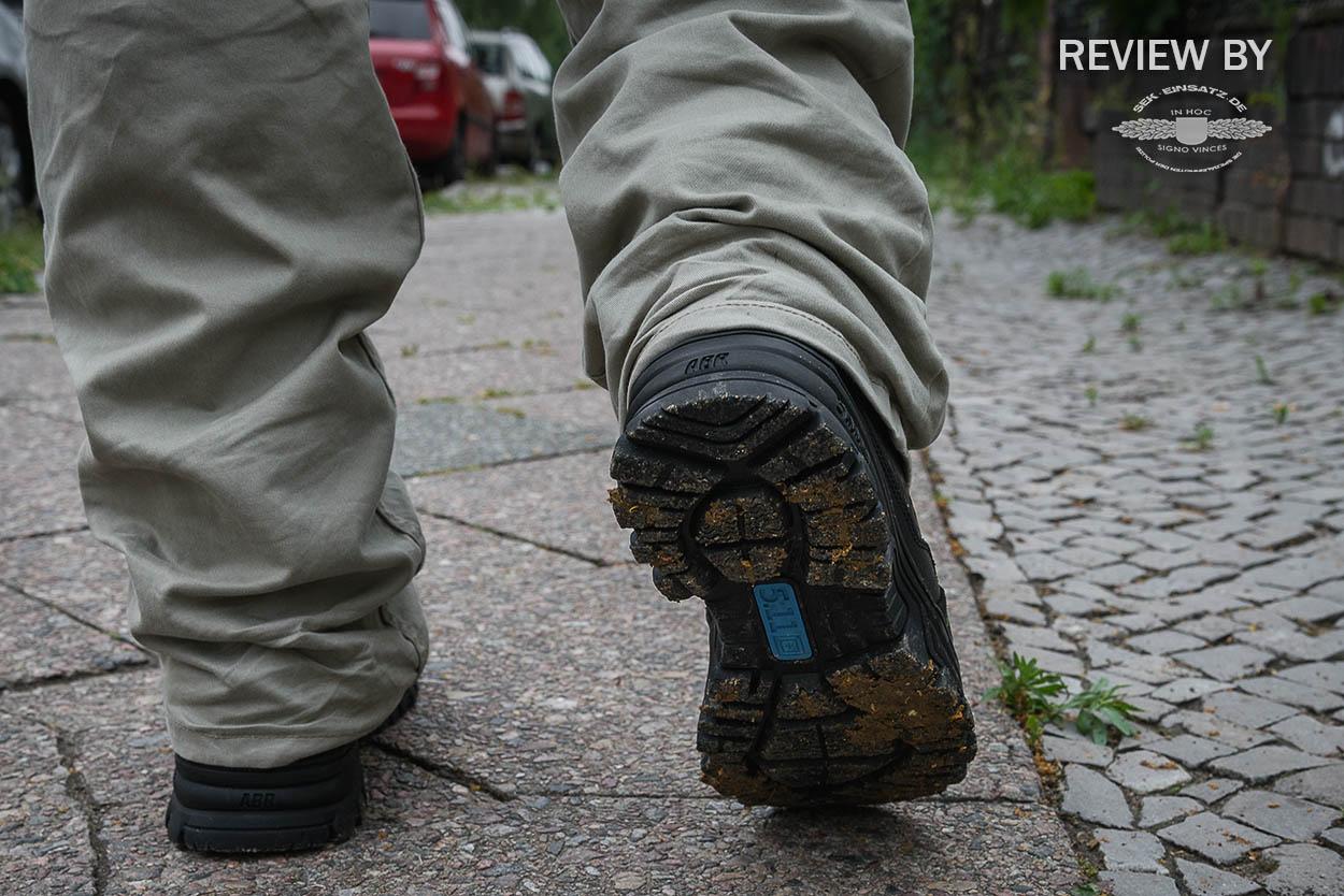Flexible und robuste Sohle des Evo 6 | Foto: © SEK-Einsatz.de
