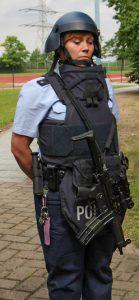 Schutzausstattung der Polizei | Foto: © MdI RLP