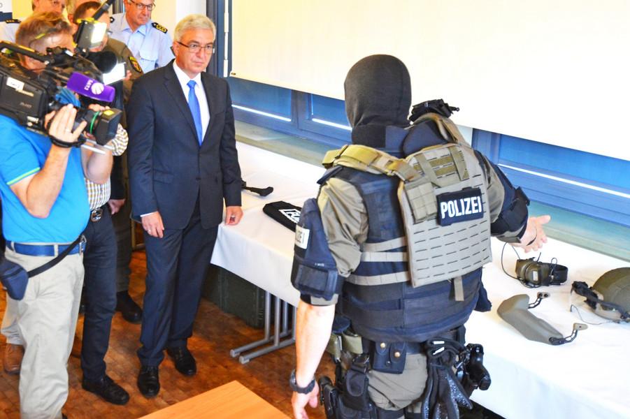 Schutzausstattung SEK und MEK | Foto: © Polizei RLP