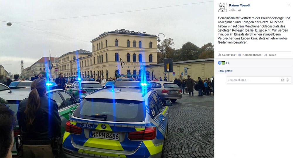 Deutsche Polizeigewerkschaft - Rainer Wendt