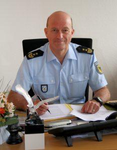 Hubert Steiger, 2008 bis 2016 Präsident der Bundespolizeidirektion München | Foto: © BPol München