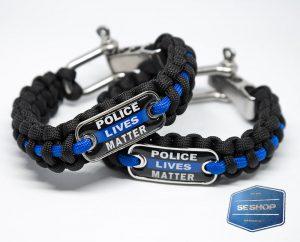 Thin Blue Line Armband im SE-Shop - Anzeige