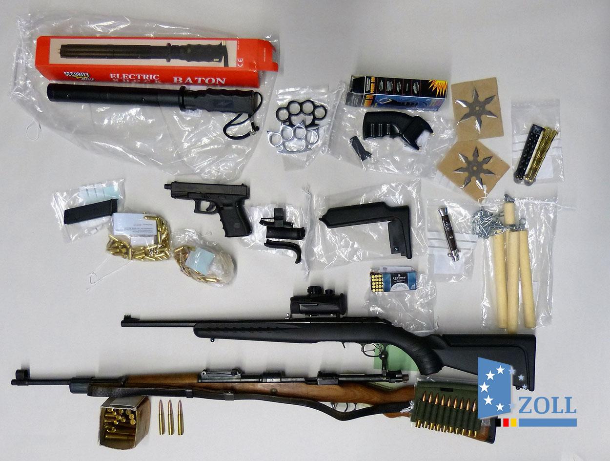 Bestellung im Darknet: Zoll stellt Waffen sicher | SEK-Einsatz.de
