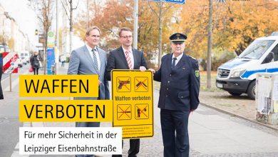 Photo of Erste sächsische Waffenverbotszone in Leipzig eingerichtet