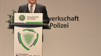 Photo of GdP-Bundeskongress: Bundespräsident fordert mehr Polizeipräsenz
